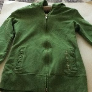 Abercrombie Girls zippered hoodie